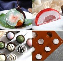 Boule De chocolat Moule L'hémisphère Forme