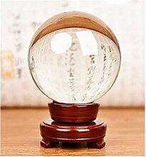 Boule de cristal Boule de cristal en verre