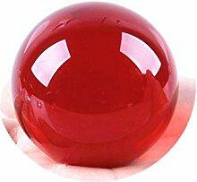 Boule de cristal de quartz lumineux Boule de verre