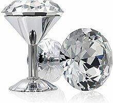 Boule de cristal de verre Rideau tenir arrière,