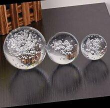Boule de cristal Feng Shui, 80MM, Quartz, verre