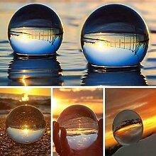 Boule de cristal K9, sphère réfléchissante en