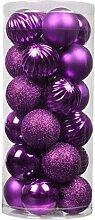 Boule De Noël Ornements Incassable Décorations