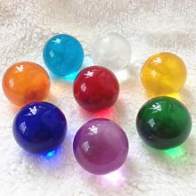 Boule de verre de Quartz multicolore, boule de