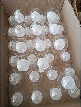 Boule de verre en forme de frosse pour lampe