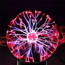 Boule de verre Plasma magique, lampe de Table,