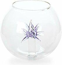 Boule en verre avec cristal - Douille intérieure