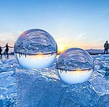 Boule en Verre ESMART Boule de Cristal 80mm avec