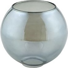 Boule en verre graphite nice (d15cm)