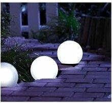 Boule lumineuse à LED solaire