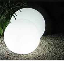 Boule lumineuse diamètre 40cm blanche ampoule E27