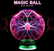 Boule lumineuse magique en verre, nouveauté