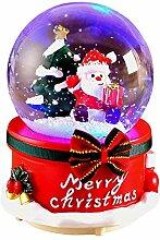 Boules à Neige Musicale Noël Decoration Parfait