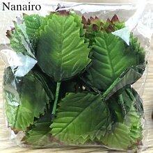 Bouquet de feuilles artificielles vertes, 120