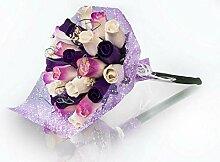 Bouquet de roses éternelles en bois   Bouquet Ava