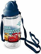 Bouteille Cars 3 SAETTA MCQUEEN Disney avec Paille
