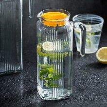 Bouteille d'eau froide en verre sans plomb,