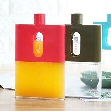 Bouteille d'eau plate en papier A5 sans BPA,