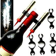 Bouteille de Champagne avec Clip en plastique pour