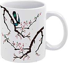 Boutique Tasse en céramique peinte à la main