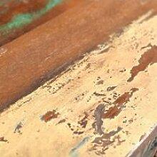Bouts de canape Console en bois avec 3 tiroirs