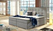Boxspring lit avec tête de lit design - Rosalia