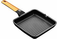 BRA Efficient Orange - Poêle gril rainurée, 28
