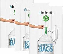 Brabantia 3 Sacs Poubelle, Distributeur de Sacs