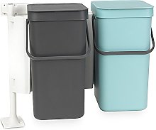 Brabantia Sort & Go Poubelle encastrable,