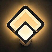 Bradoner Acrylique Lampe De Chevet Lampe Murale