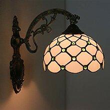 Bradoner lampe de chevet LED chambre minimaliste
