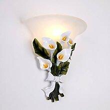 Bradoner Lampe murale décorative de salon rétro