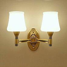 Bradoner LED Simple Cuivre/Verre E27 Simple/Double