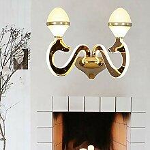 Bradoner LED Simple Lampe Murale Creative Salon