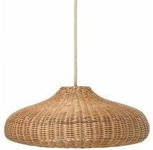 BRAIDED-Suspension Rotin Ø49.5cm naturel Ferm