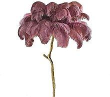 Branche Plume Lampadaire Branche Cuivre Pur Lampe