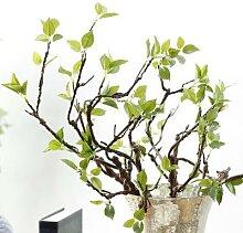 Branches d'arbre artificielles avec feuilles