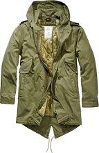 Brandit M51 US Parka, veste textile - Noir - L
