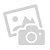 Brasero ovale de plein air, métal noir et ciment