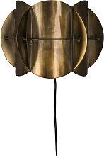 Brass - Applique murale en métal