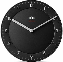 Braun Horloge Murale Radio-pilotée en Plastique