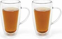 Bredemeijer 165013 Verre à thé et café en verre
