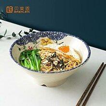 BRERLEIN Style Japonais Nouilles Bol Vaisselle En