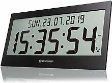 Bresser Horloge Murale LCD Jumbo DCF