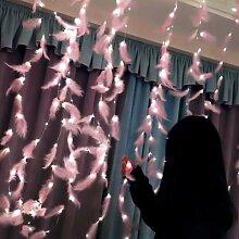 Bricolage 3m LED plume chaîne lumières guirlande