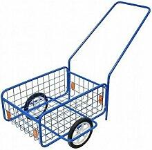 Bricoline - Chariot de jardinage laitier 50kg