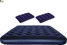 BricoLoco Matelas + 2 oreillers gonflables pour