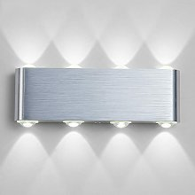 Briday - Lampe Murale LED, 8w Moderne Aluminium