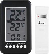 Briday - Thermomètre Intérieur Extérieur Sans