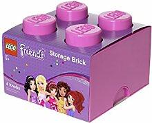 Brique de rangement LEGO Friends 4 plots, Boîte